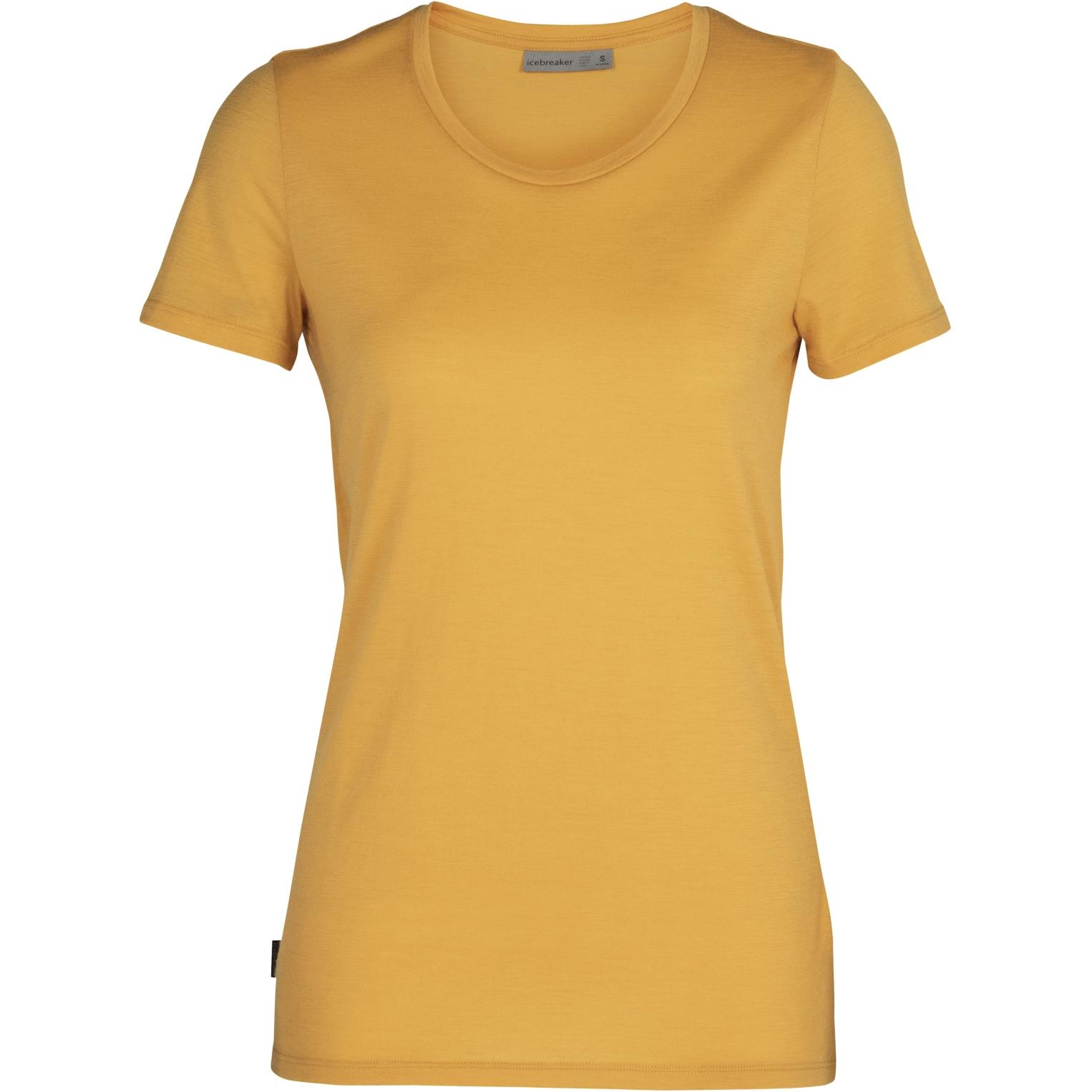 Produktbild von Icebreaker Tech Lite Low Crewe Damen T-Shirt - Safflower