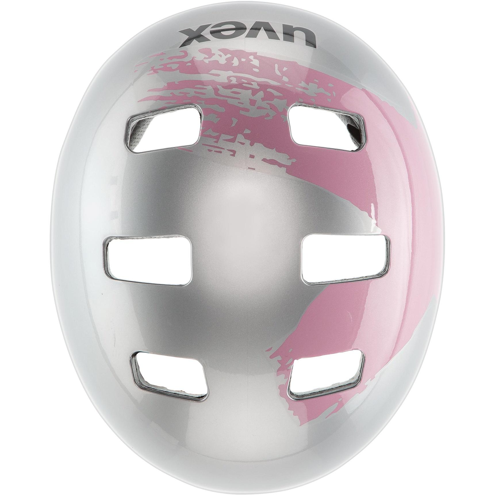 Image of Uvex kid 3 Kids Helmet - silver-rosé