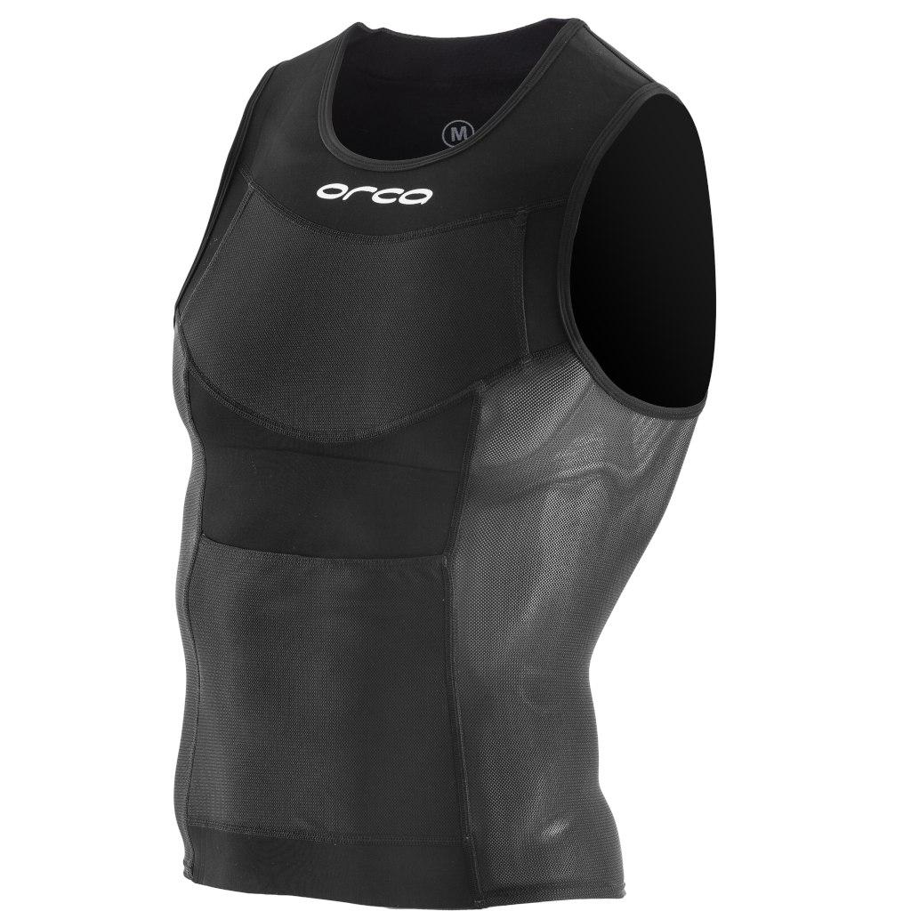 Orca Swim Run Neoprene Top - black