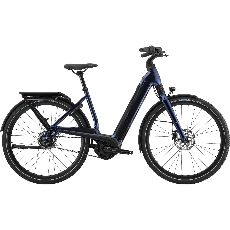 Produktbild von Cannondale MAVARO NEO 4 - 625 Wh City E-Bike mit Riemenantrieb - 2021 - midnight blue