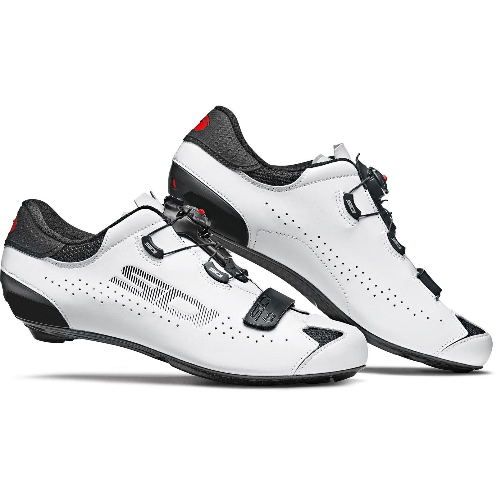 Sidi Sixty - Zapatillas ciclismo carretera - negro/blanco
