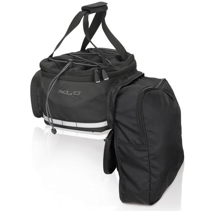 XLC BA-S64 Carry More Carrie Bag Gepäckträgertasche - schwarz/dunkelgrau