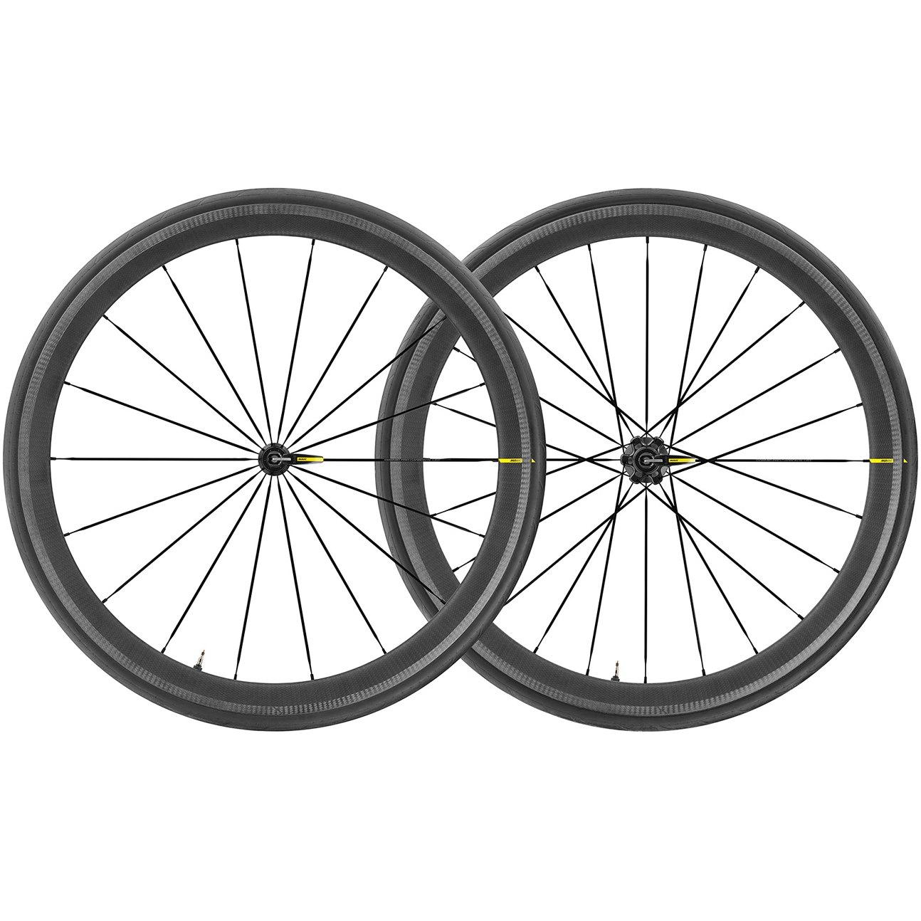 Mavic Cosmic Pro Carbon SL Laufradsatz Schlauchreifen - schwarz