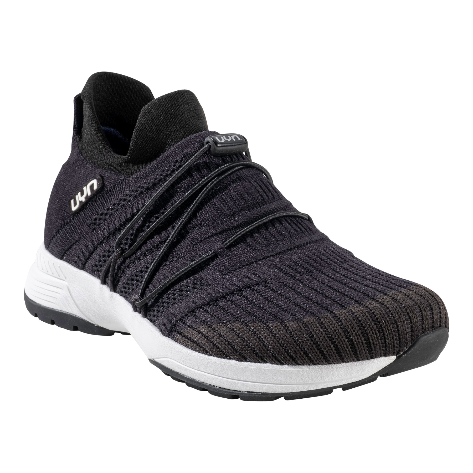 Image of UYN Free Flow Tune Running Shoes Women - Black/Carbon