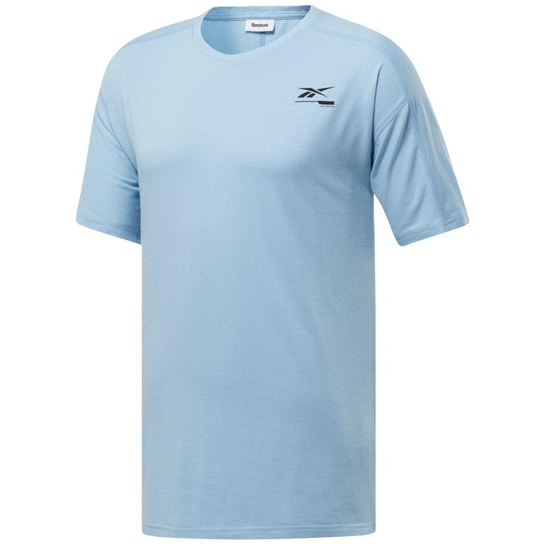 Reebok Männer Speedwick Graphic Move T-Shirt - fluid blue FK6319