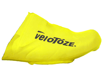 Image of veloToze Toe Cover Road - viz-yellow