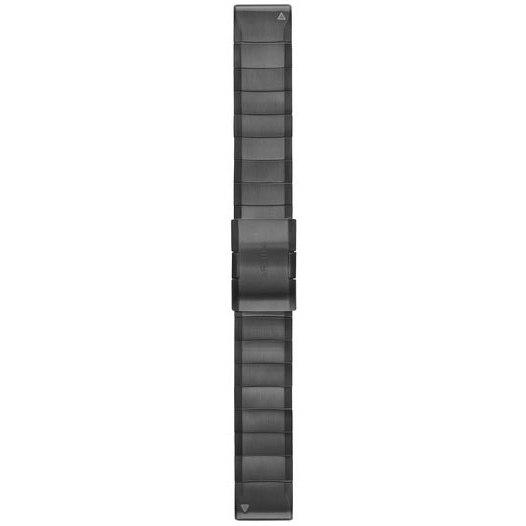 Garmin QuickFit 22 Uhrenarmband für  fenix 5/6 / Forerunner 935/945 / Instinct - Carbon Gray DLC Titanium 010-12740-02