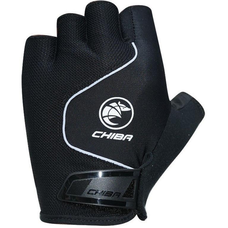 Chiba Cool Air Short Finger Gloves - black