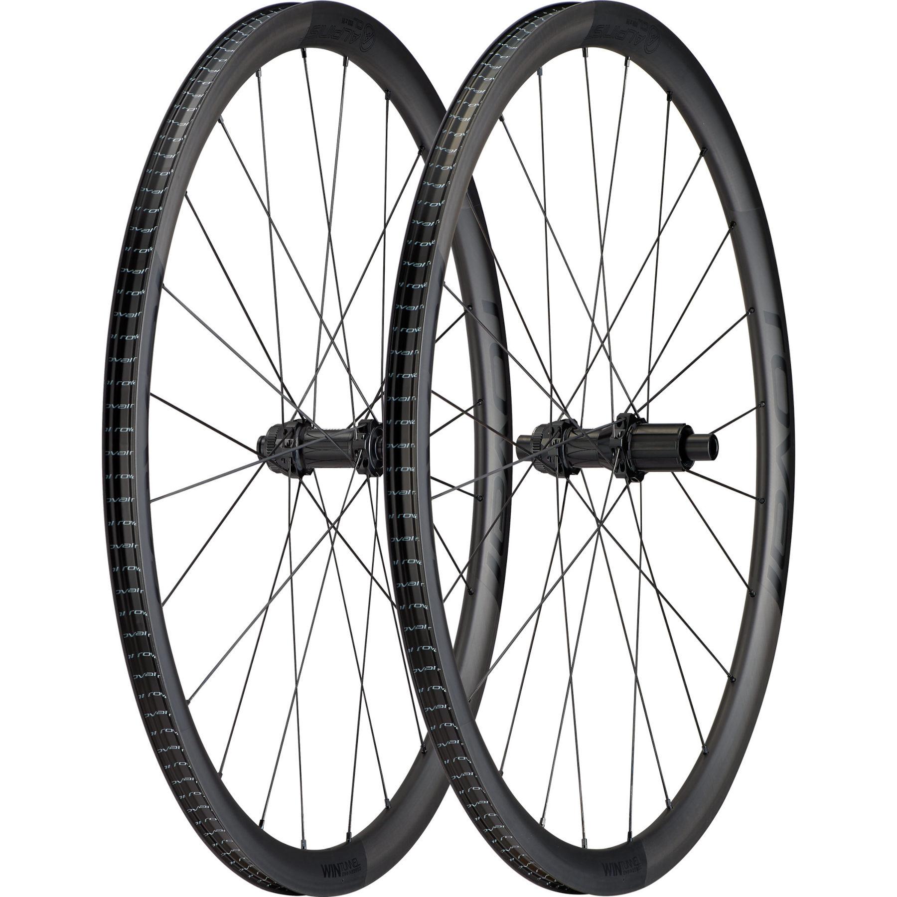 """Produktbild von Specialized Roval Alpinist CL HG 28"""" Carbon Laufradsatz - Centerlock - VR: 12x100mm   HR: 12x142mm - Carbon/Black"""