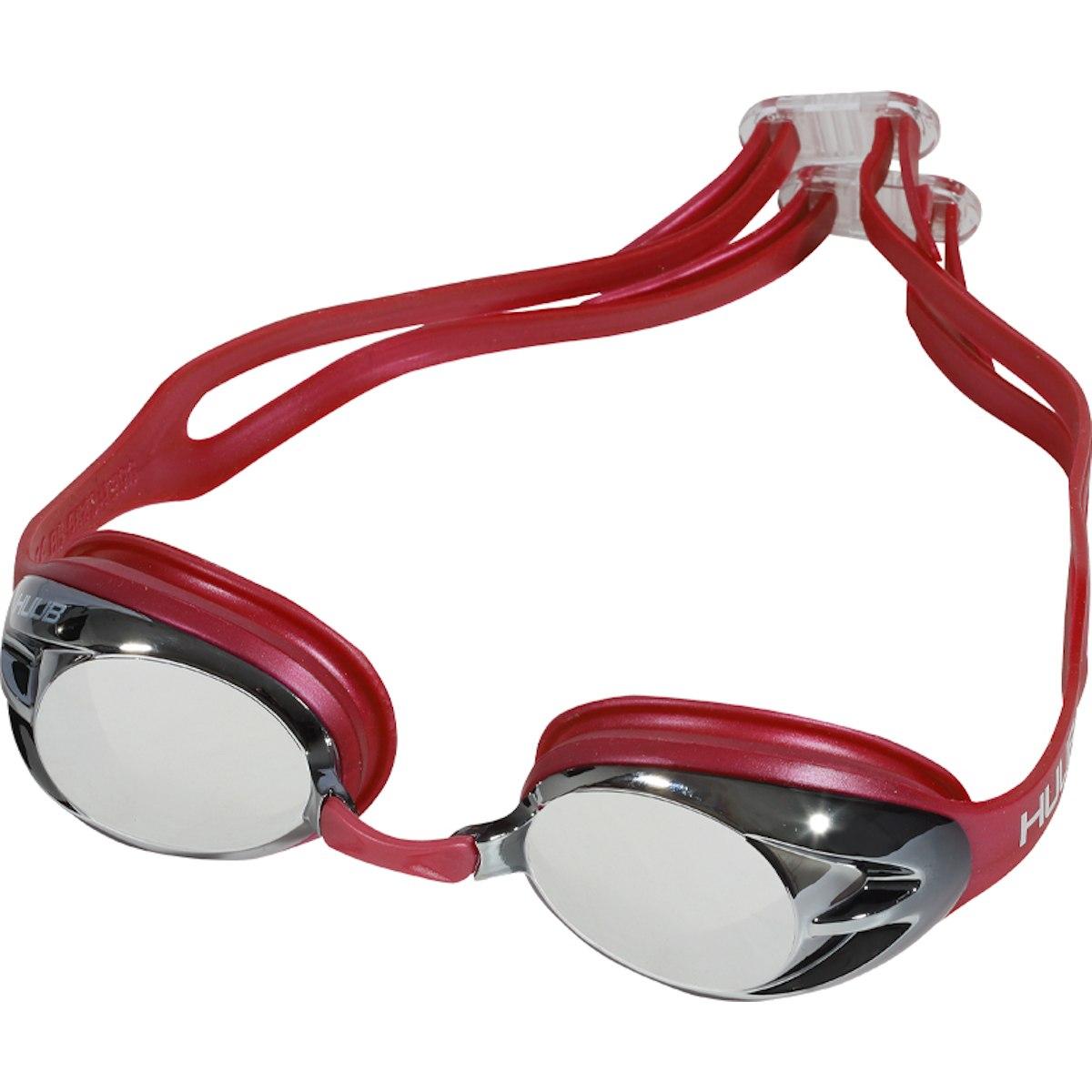 Bild von HUUB Design Varga Schwimmbrille - rot/silver mirrored