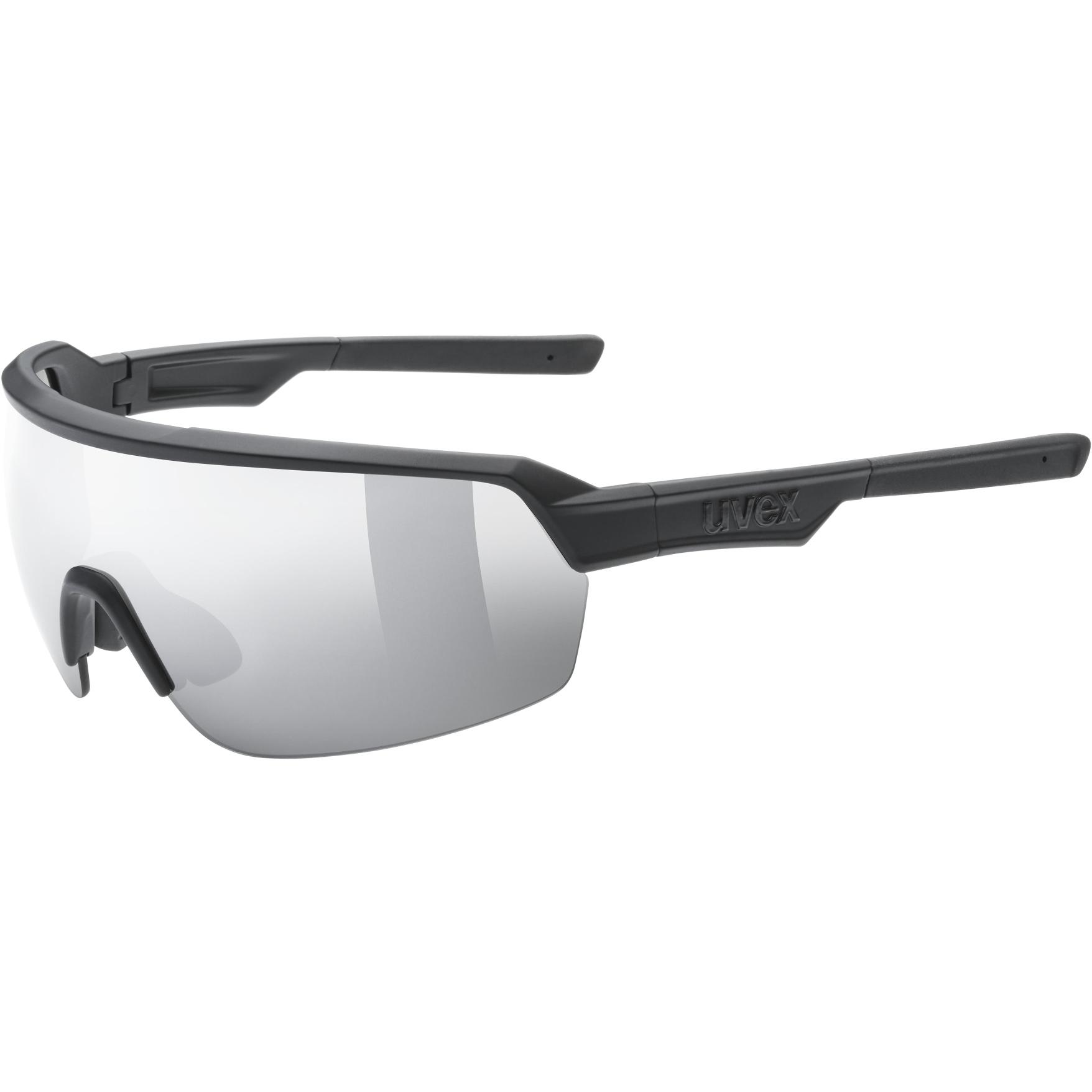 Uvex sportstyle 227 Brille - black mat/mirror silver