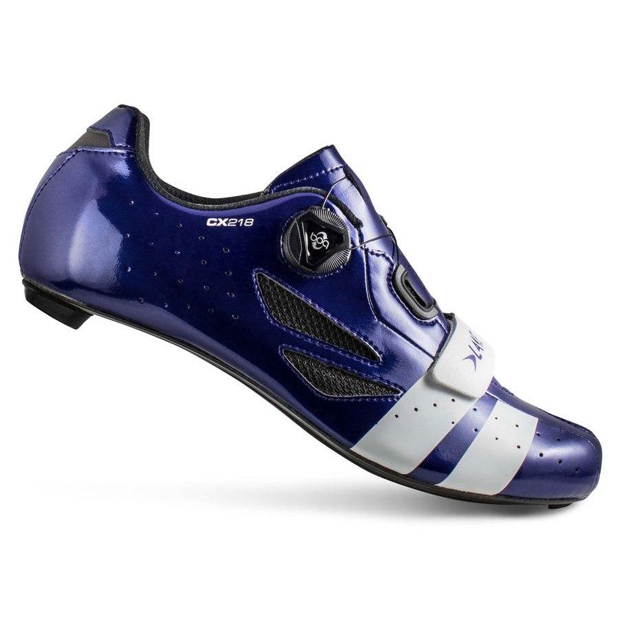 Lake CX218 Rennradschuh - marineblau/weiß