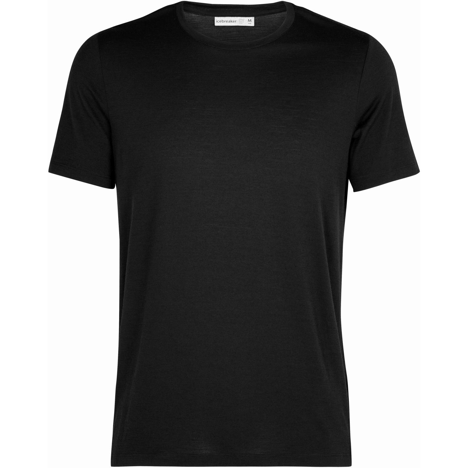 Icebreaker Tech Lite II Camiseta para Hombre - Black