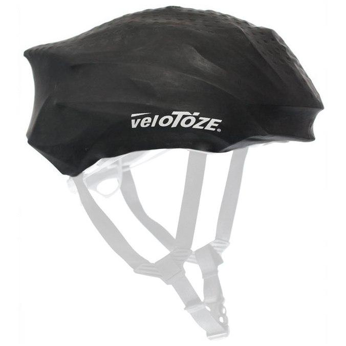 Bild von veloToze Helmet Cover Road - Helmüberzug - schwarz
