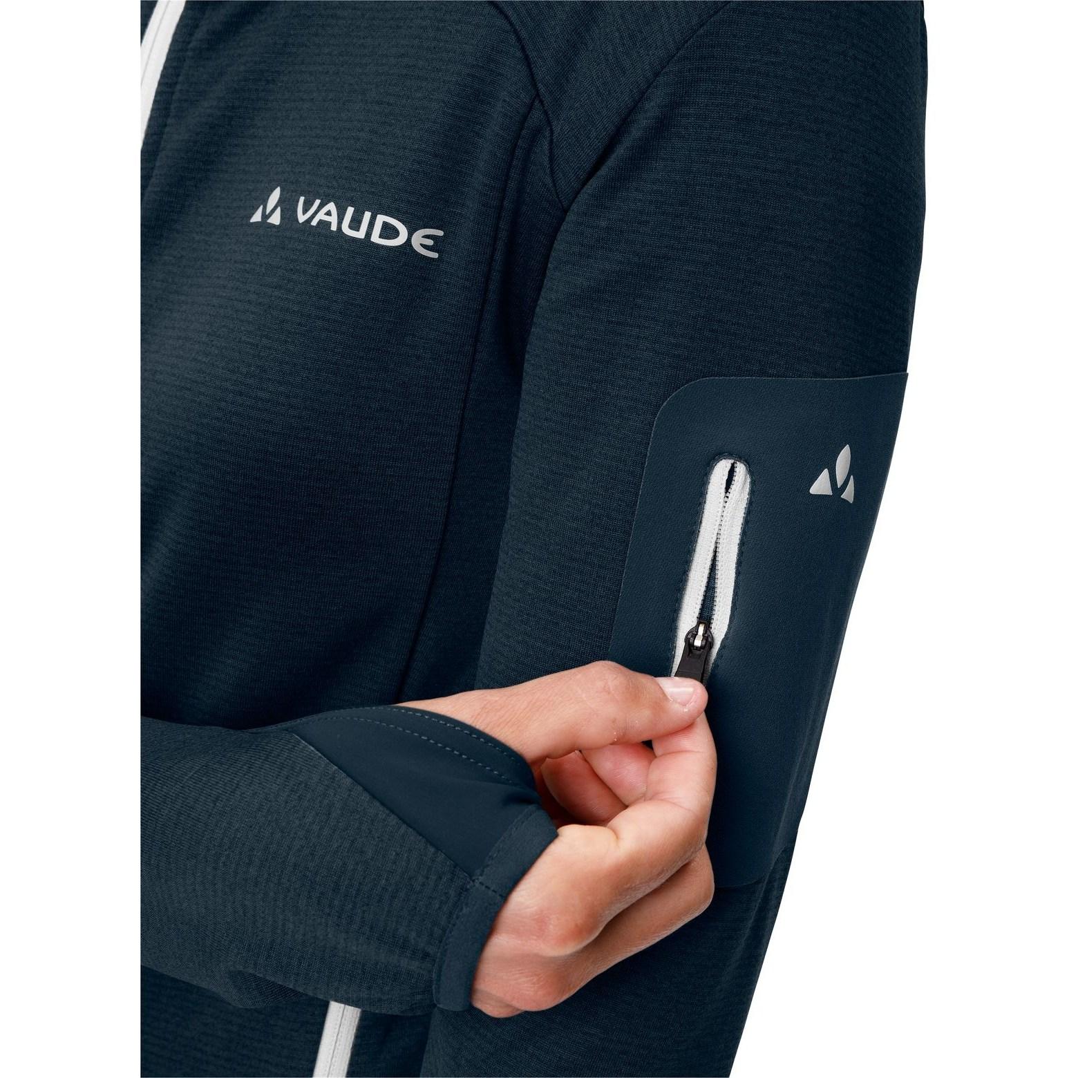 Image of Vaude Women's Monviso Fleece Jacket - dark sea