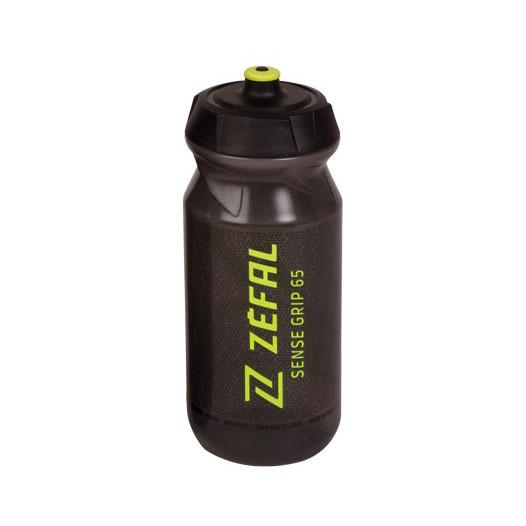 Zéfal Sense Grip 65 Trinkflasche 650ml - smoked black/yellow