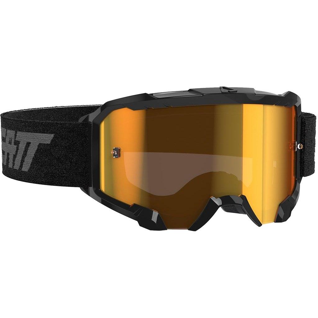 Leatt Velocity Iriz 4.5 Goggle Brille - black / bronz - anti fog lens
