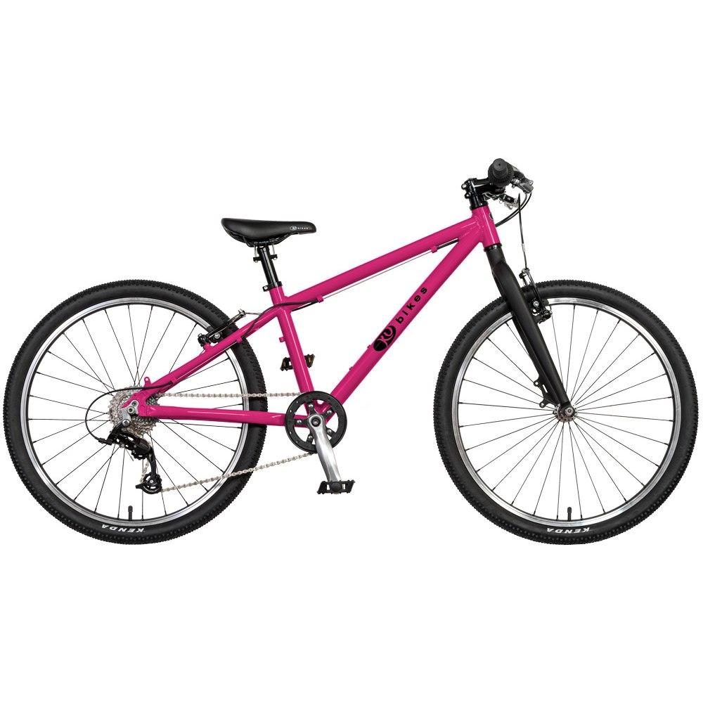 KUbikes 24L MTB 8-Gang Kinderfahrrad - pink Lasur