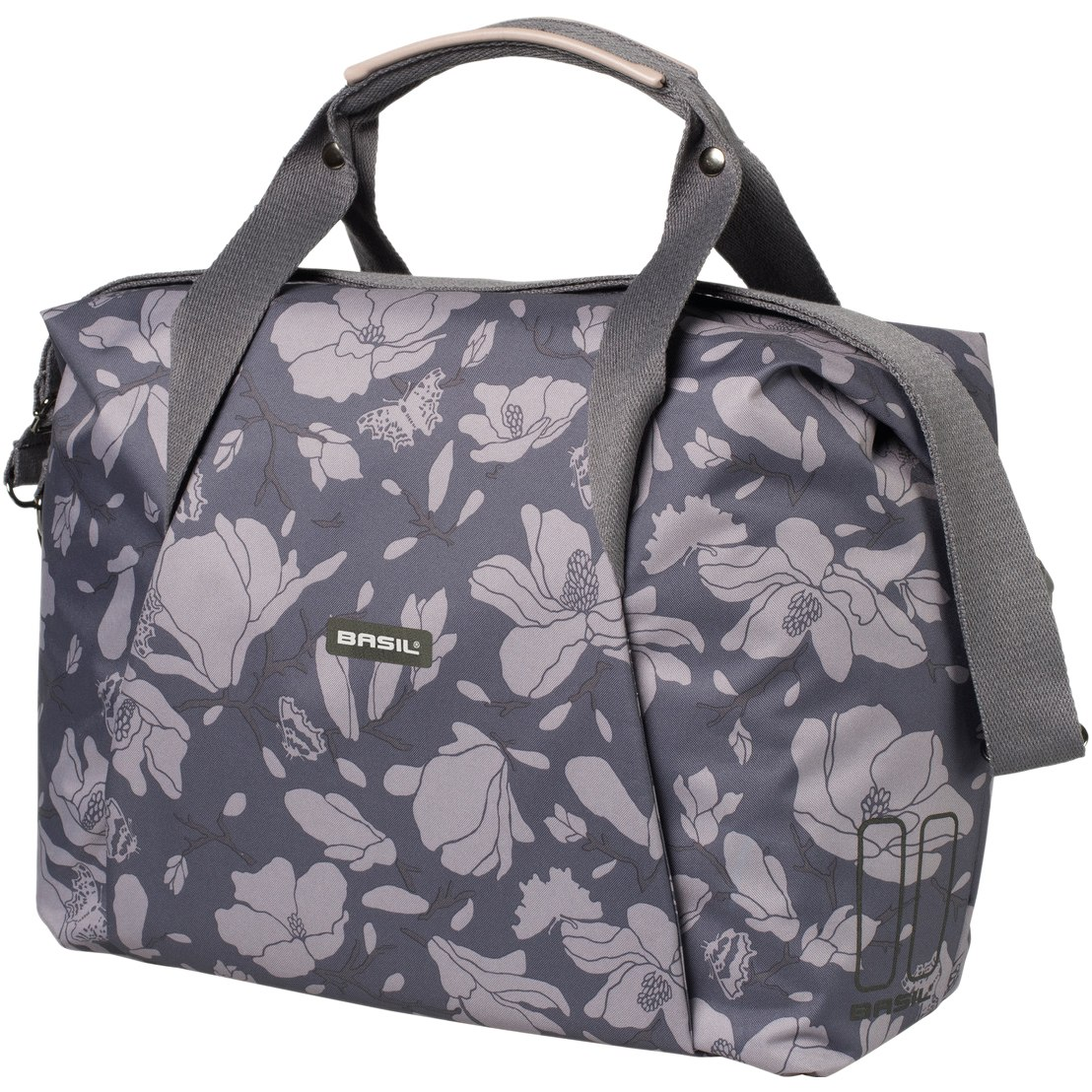 Basil Magnolia Carry All Bag - Shoulder / Carrier Bag - blackberry