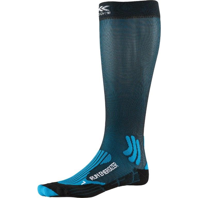 X-Socks Run Energizer Laufsocken - teal blue/opal black