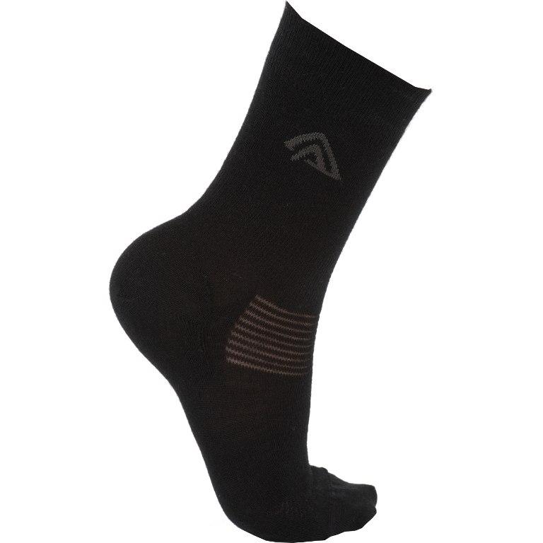 Aclima Wool Liner Socks - jet black
