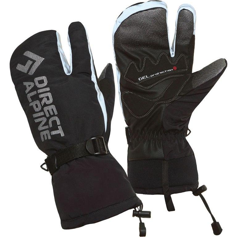 Directalpine Wallis Three Finger Gloves - black