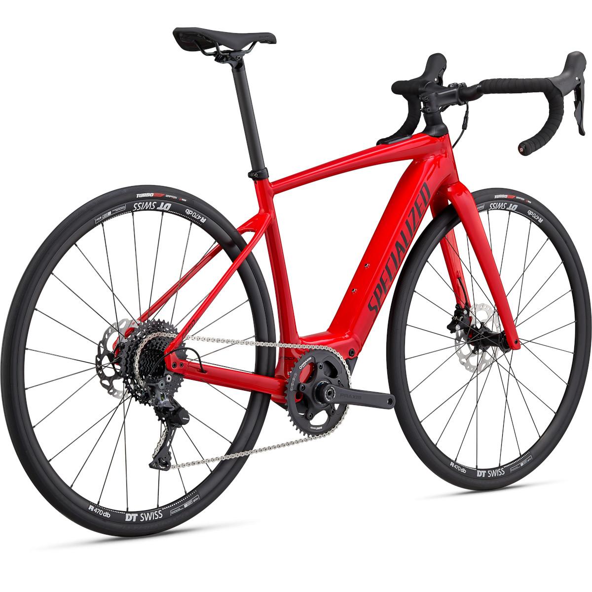 Bild von Specialized TURBO CREO SL COMP E5 - Gravel E-Bike - 2022 - flo red / black