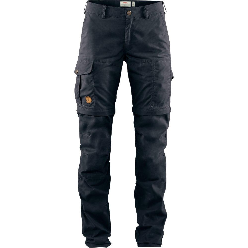 Fjällräven Karla Pro Zip-Off Trousers Damenhose - dark navy