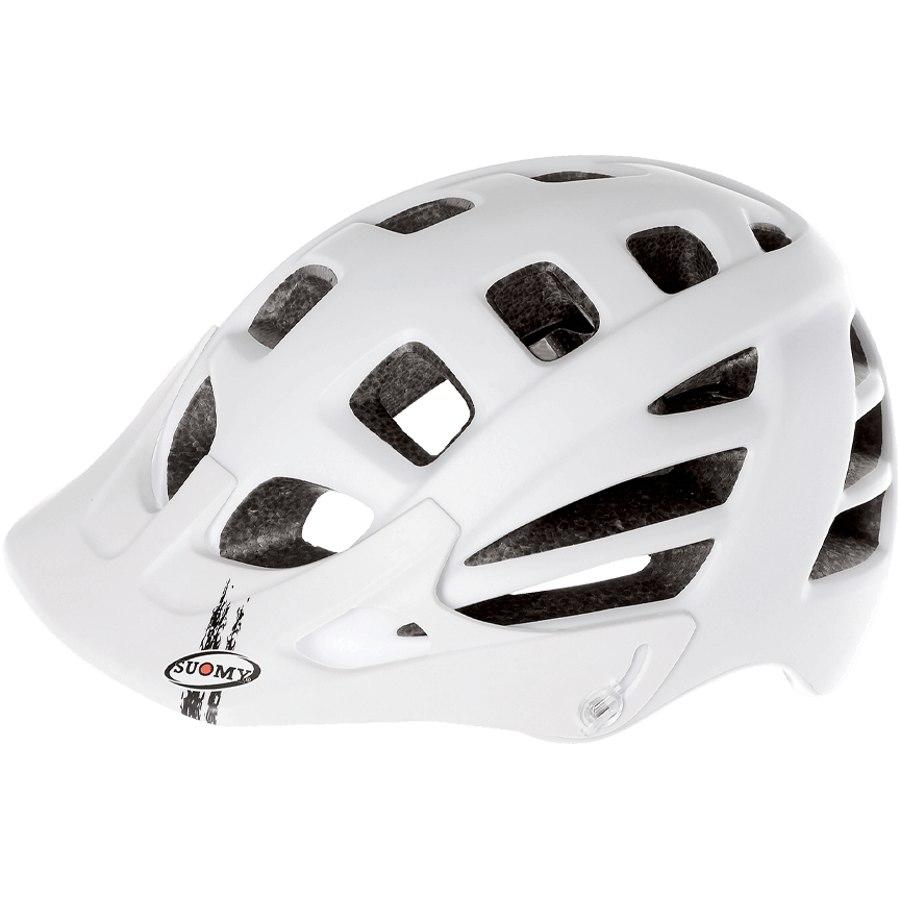Suomy Scrambler Mono Helmet - Matt White