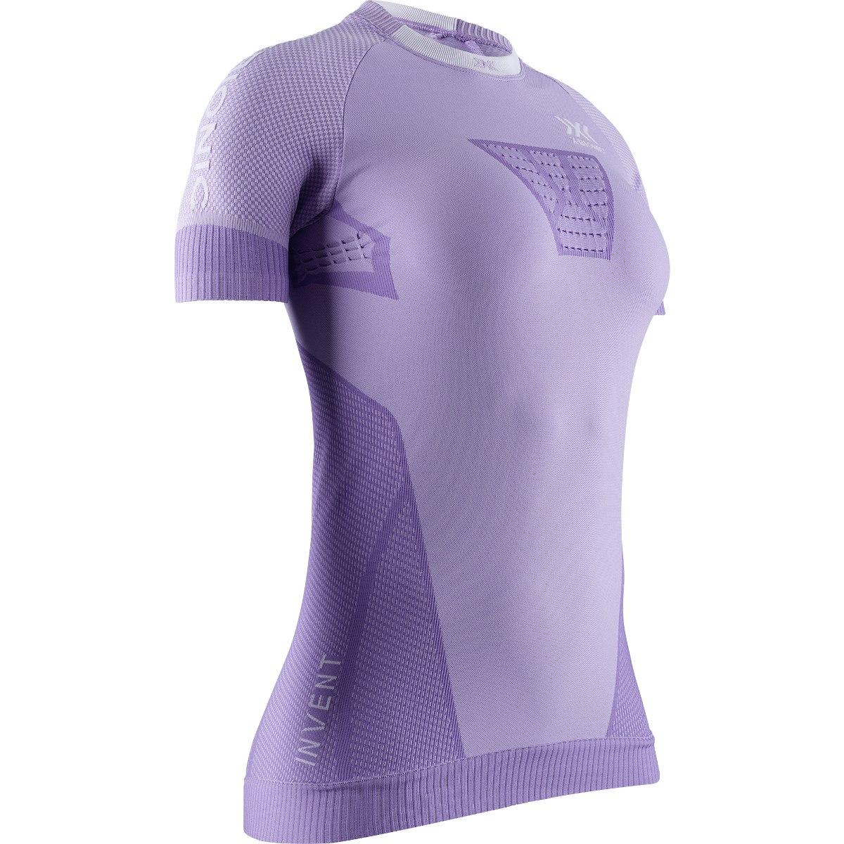 Bild von X-Bionic Invent 4.0 Run Speed Kurzarm-Laufshirt für Damen - bright lavender/white