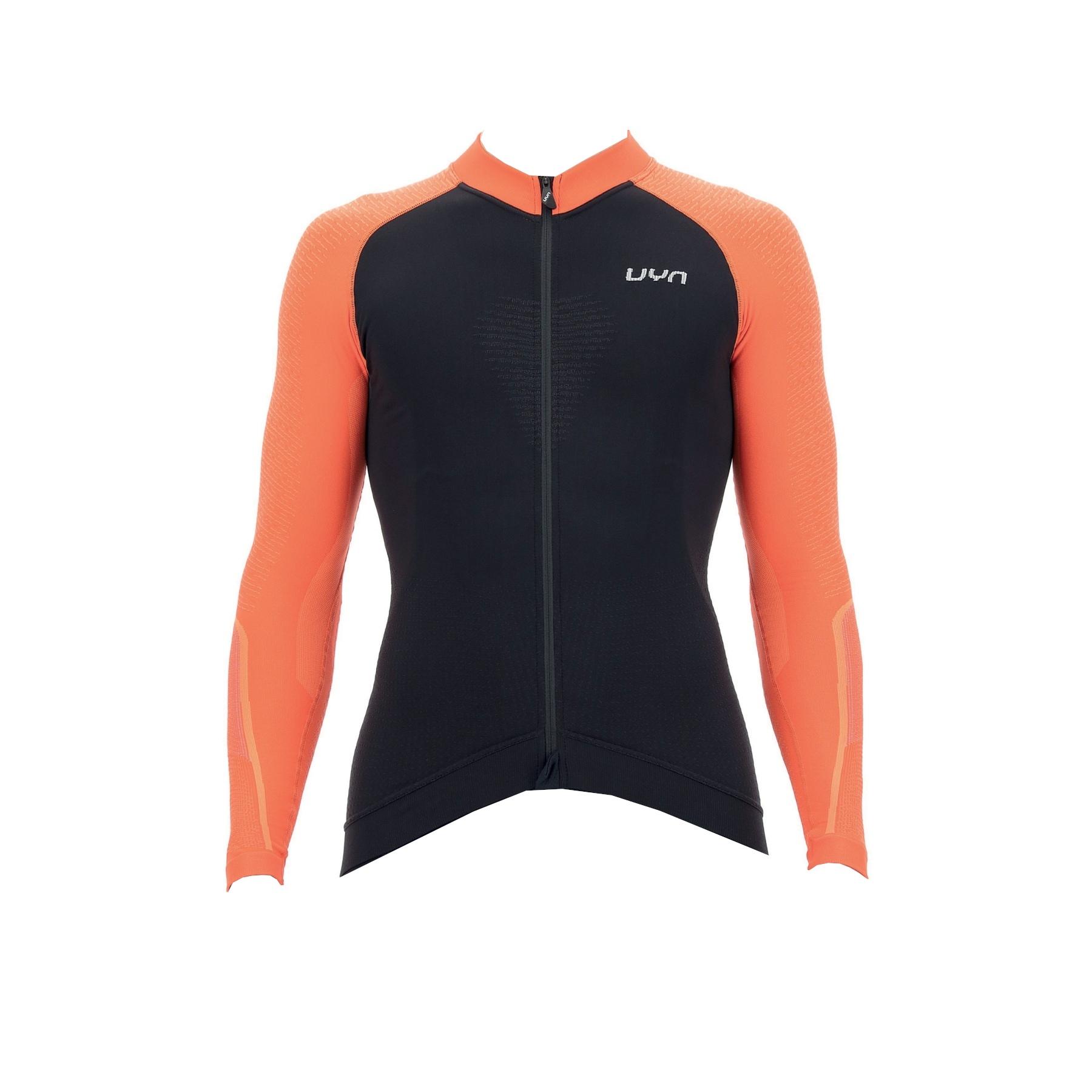 UYN Biking Granfondo Long Sleeve Jersey - Blackboard/Ibis
