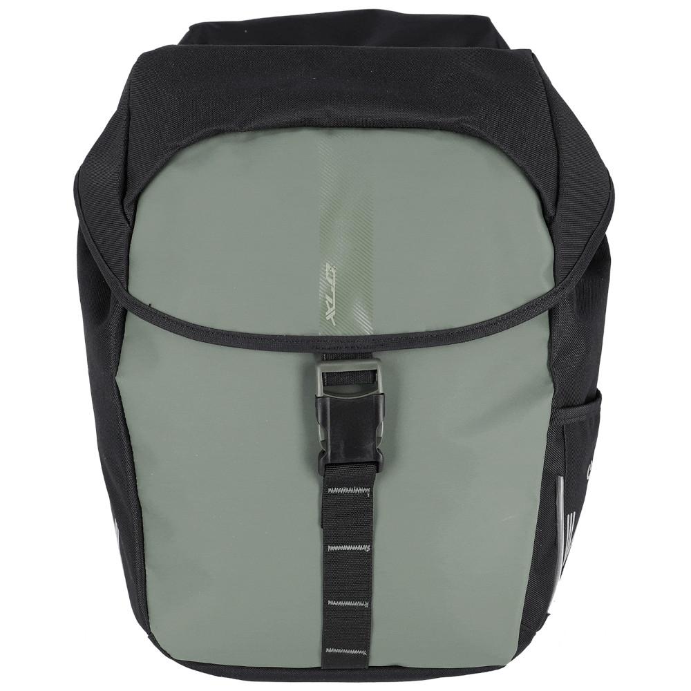 Bild von XLC V-Light Active Gepäckträgertasche - Doppelt - MIK - dunkelgrün