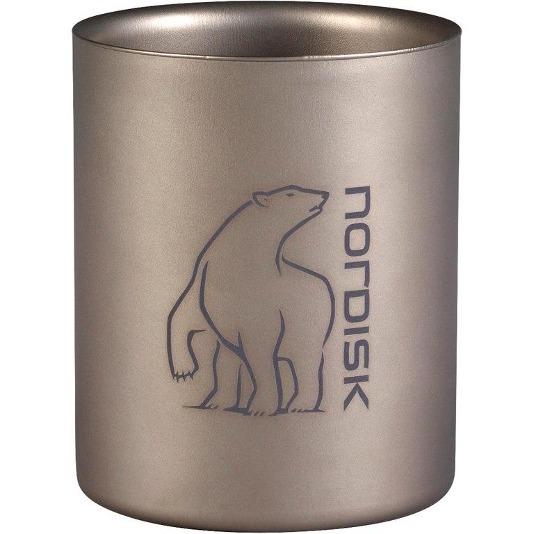 Nordisk Titanium Mug Double-Wall 450 ml Becher