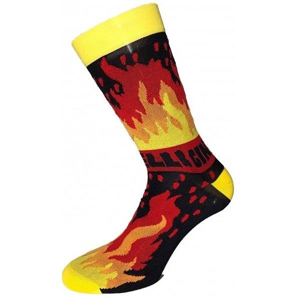 Cinelli Ana Benaroya Fire Socks - Ana Benaroya Fire