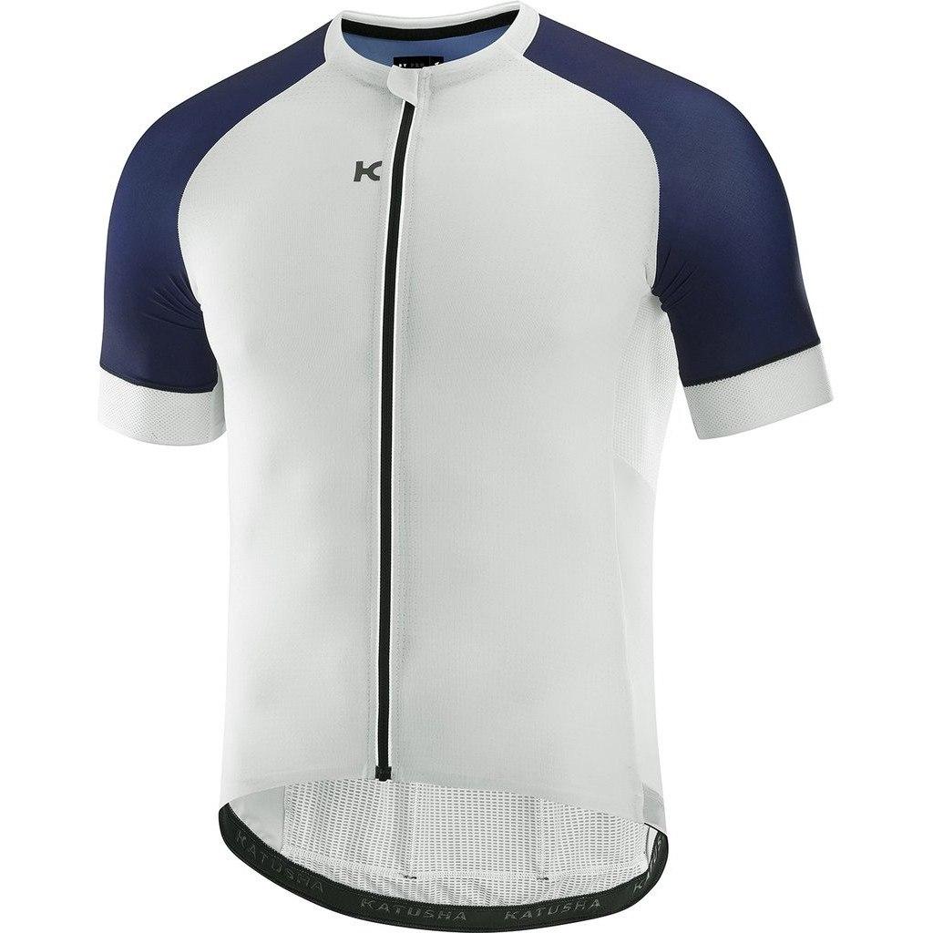 Katusha SUPERLIGHT Short Sleeve Jersey - white peacoat blue