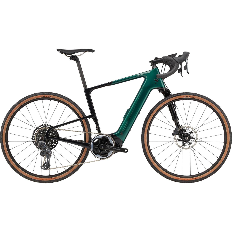 "Produktbild von Cannondale TOPSTONE NEO Carbon Lefty 1 - SRAM X01 Eagle eTap AXS - 27.5"" Gravel E-Bike - 2021 - Emerald"