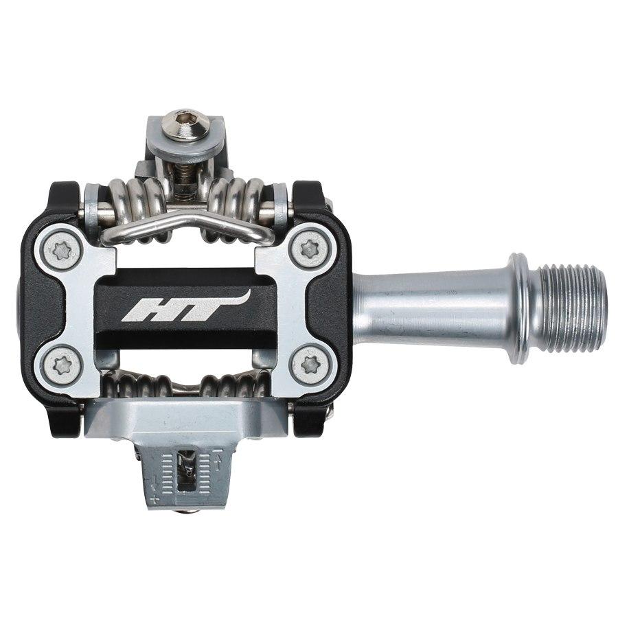 HT M1 XC Klickpedal Aluminium - schwarz