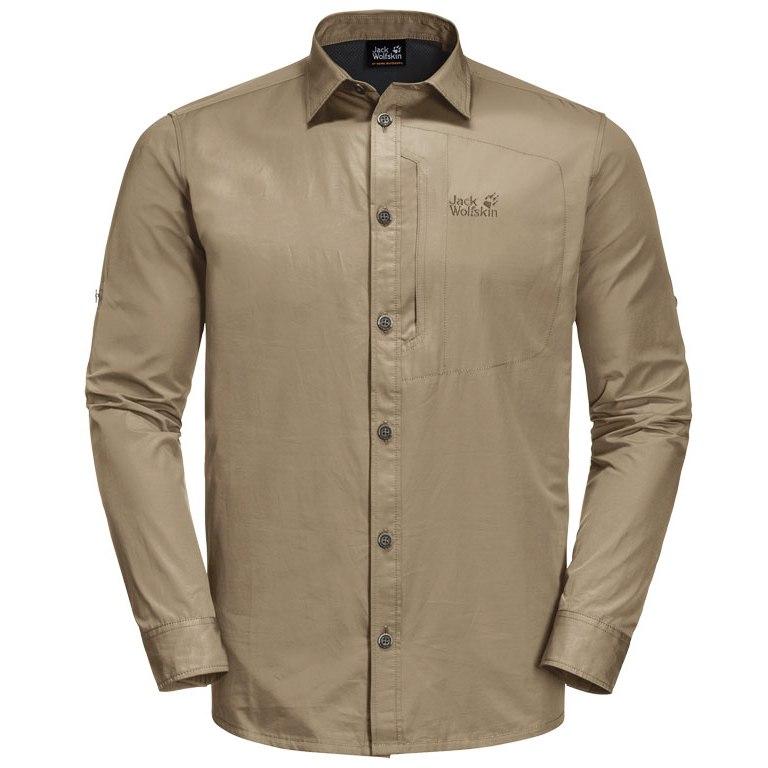 Jack Wolfskin Lakeside Roll-Up Shirt M - sand dune