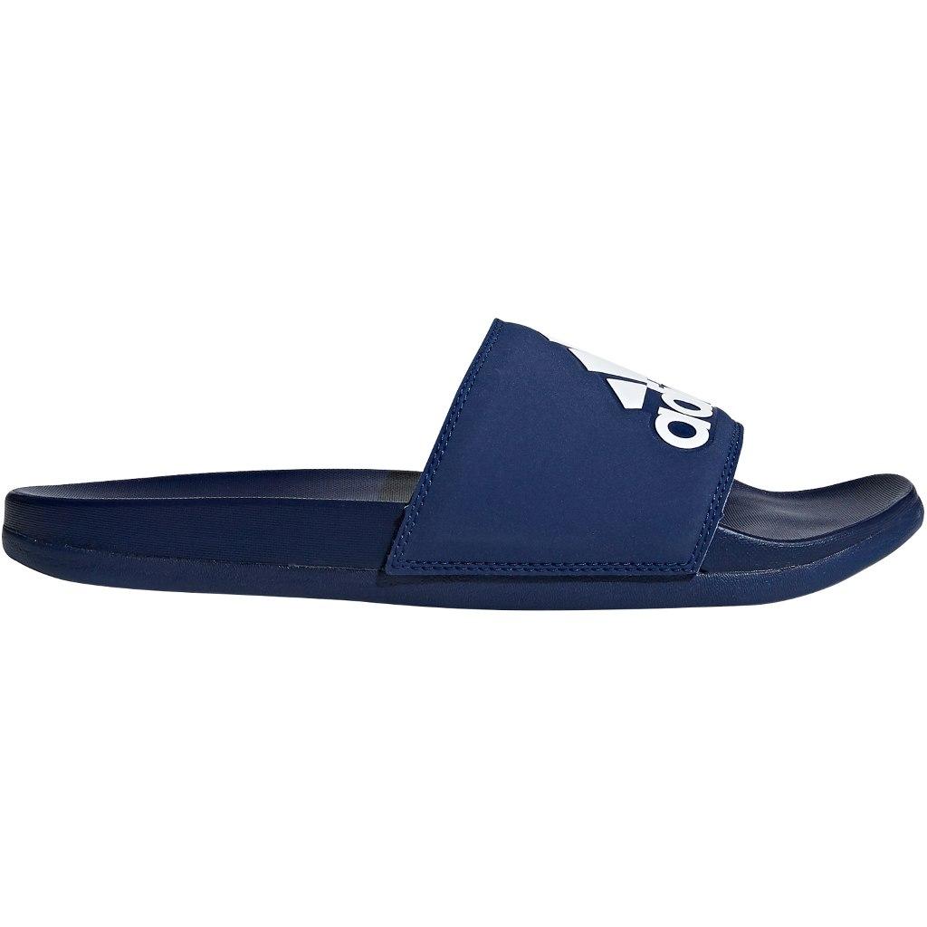 Foto de adidas adilette Cloudfoam Plus Logo Slipper Chanclas para hombres - dark blue/ftwr white/dark blue B44870