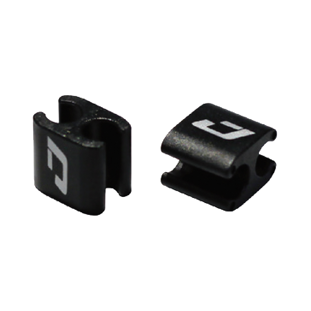 Jagwire Halter / Verbinder für Züge / Leitungen / elektrische Kabel - 4/5 mm (4 Stück)