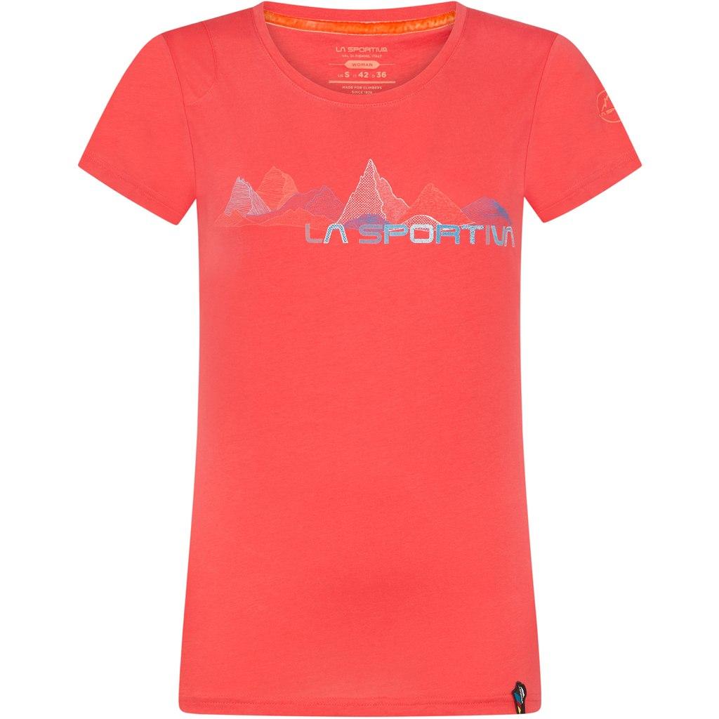 La Sportiva Peaks T-Shirt Women - Hibiscus