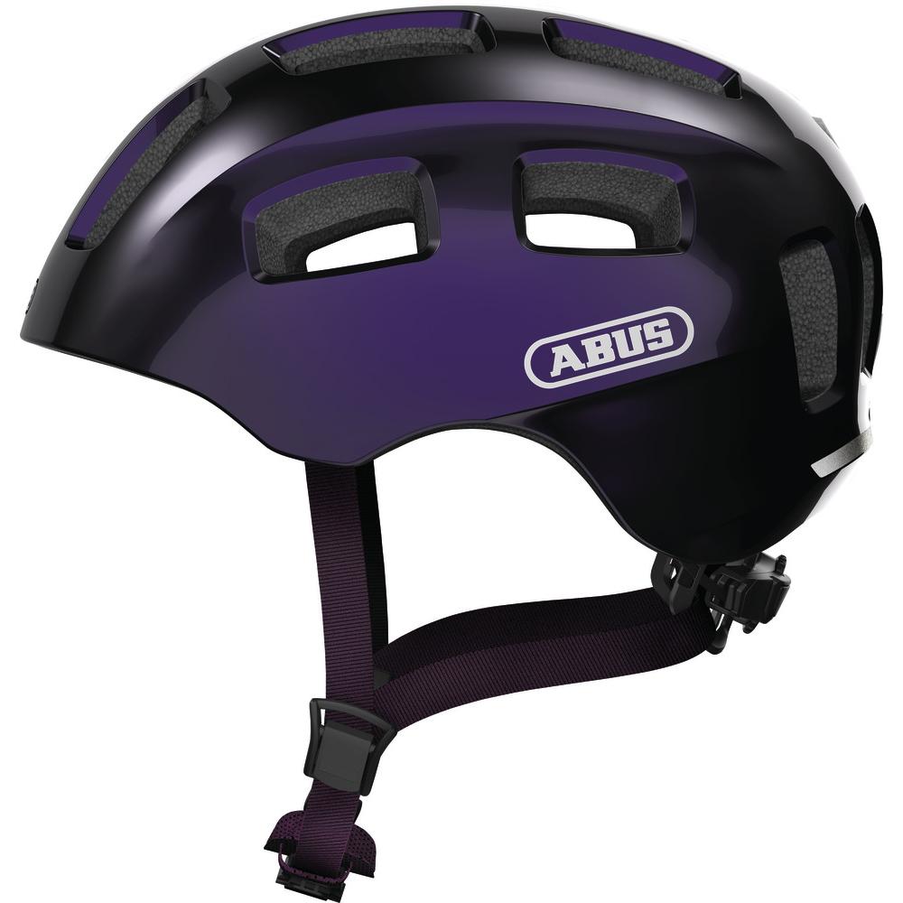 ABUS Youn-I 2.0 Casco - black violet