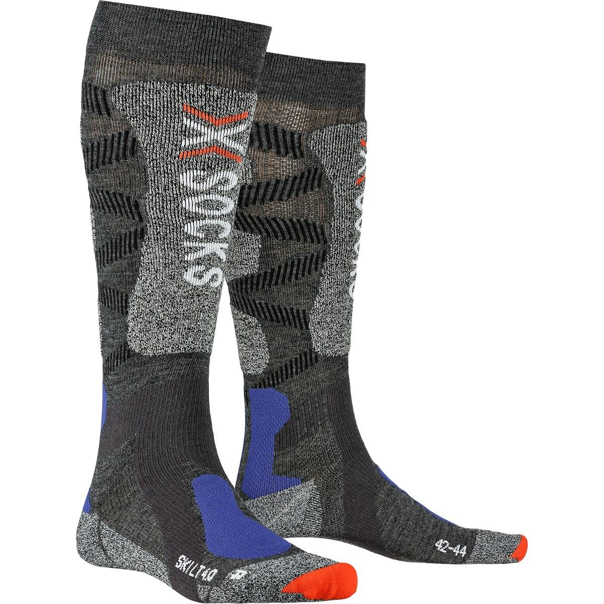 X-Socks Ski Light 4.0 Socken - anthracite melange/stone grey melange