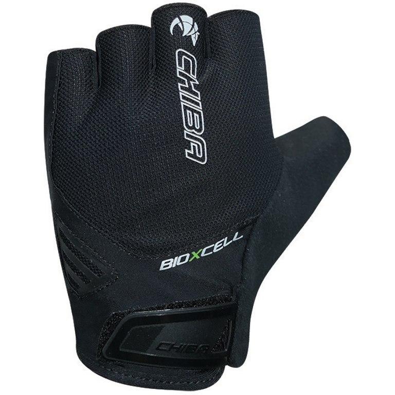 Chiba BioXCell Air Short Finger Gloves - black