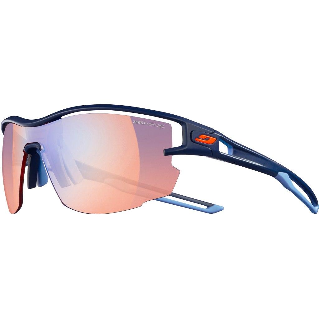Julbo Aero Reactiv Performance 1-3 Sonnenbrille - Dunkelblau / Multilayer Blau