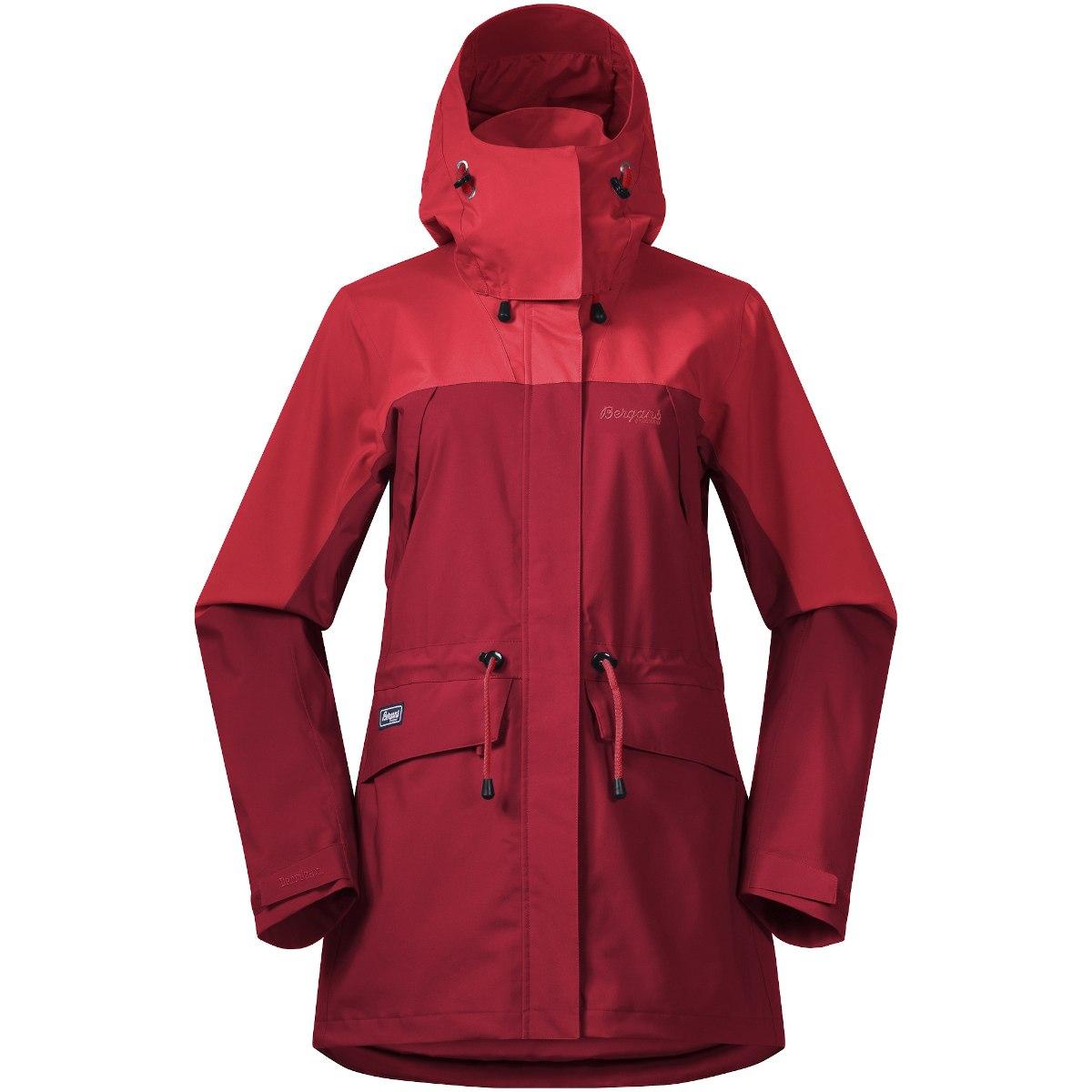 Produktbild von Bergans Breheimen 2L Damenjacke - red/fire red