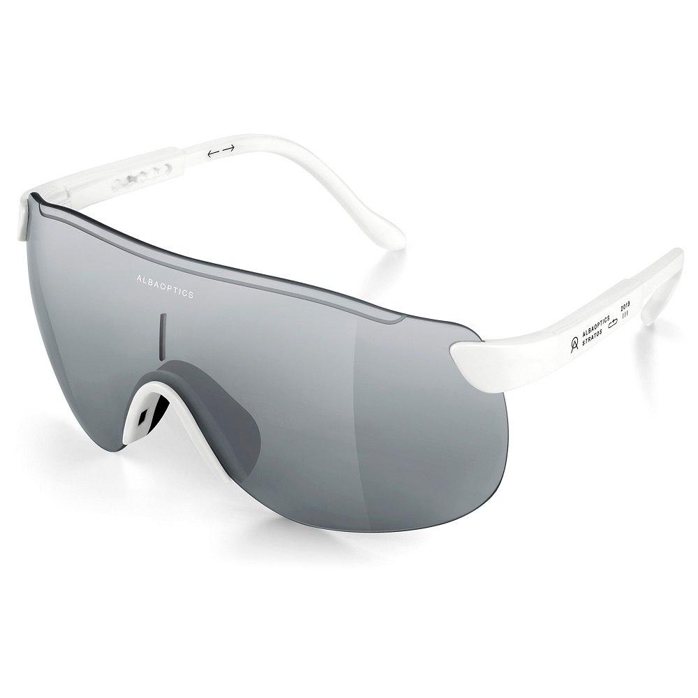 ALBA Stratos White / Mirror Alu Glasses