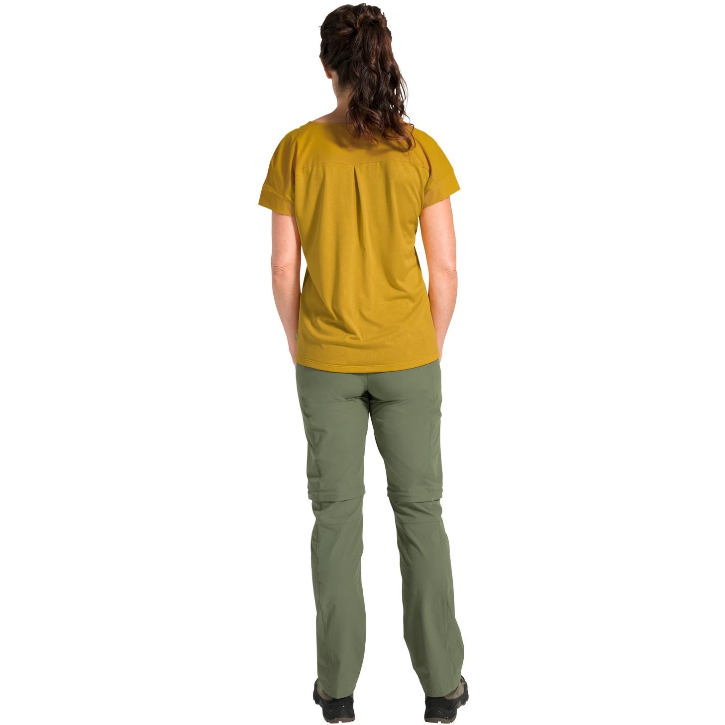 Bild von Vaude Skomer V-Neck Damen T-Shirt - marigold