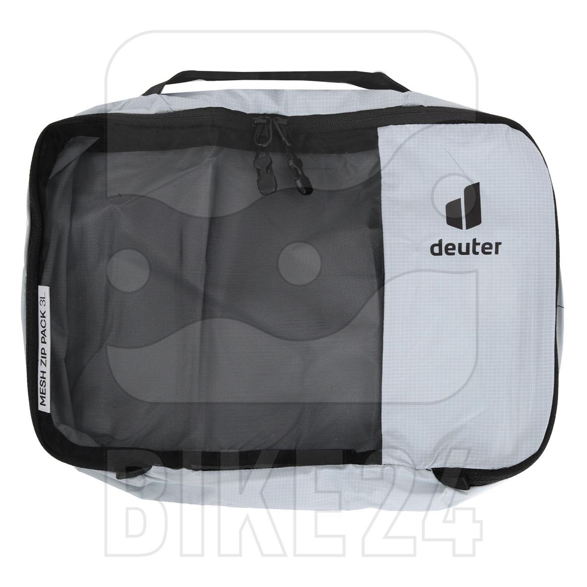 Image of Deuter Mesh Zip Pack 3 liters - tin-black