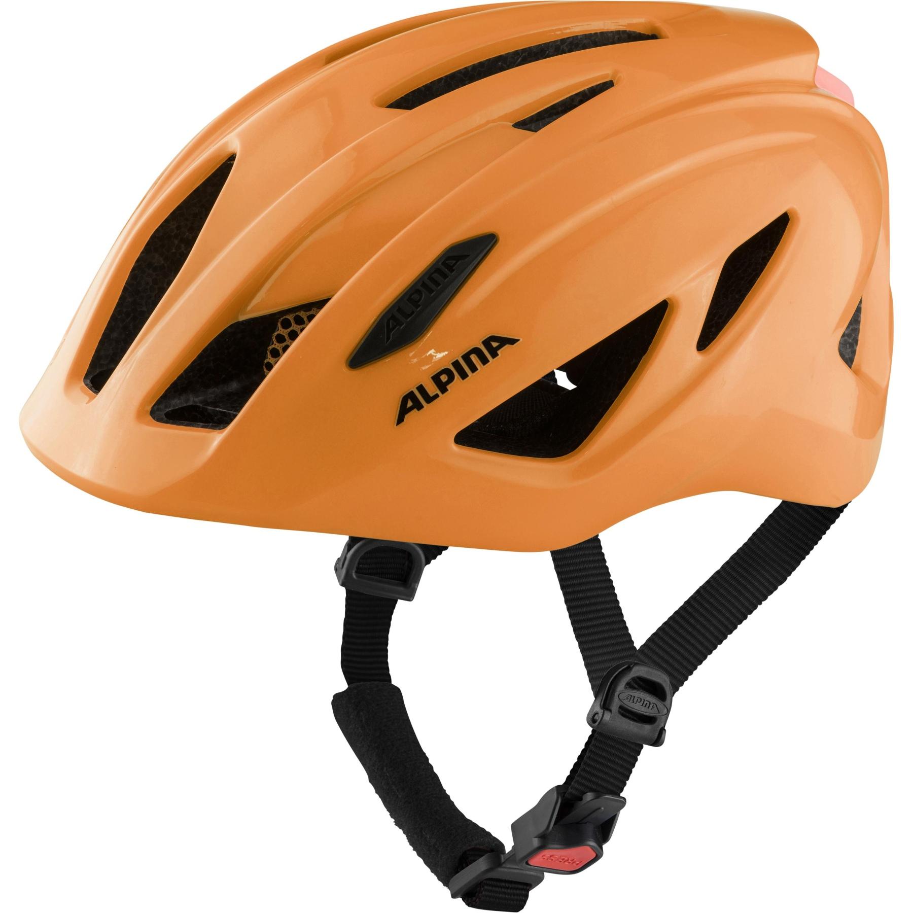 Alpina Pico Flash Kids Helmet - neon orange gloss